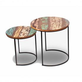 Журнальный стол в стиле лофт ИНДУ ВАЗАНТА