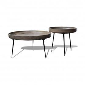 Набор столиков из массива, платина