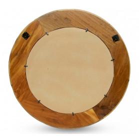 Зеркало в деревянной раме лофт САРИКА 3