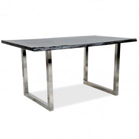 Рабочий стол лофт ДЖИВАН platinum silver